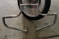 Sportster Part (86-03') w/Mid controls - Lindby Highway Bar