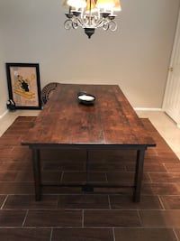 Rustic Solid Wood Dinning Room Table Henderson, 89052