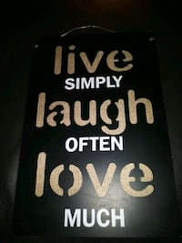 Cute live laugh love Sign Apple Valley, 92308