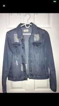 distressed denim jacket  Toronto, M6H