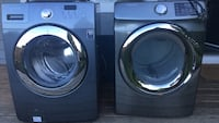 gray and silver front-load washing machines Qualicum Beach, V9K 1S1