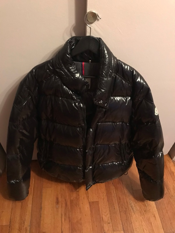 Used Moncler shiny puffer jacket size 6 (XL) Gently worm for sale in New  York 3aefe9295b