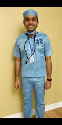 Male doctor costume with all accessories