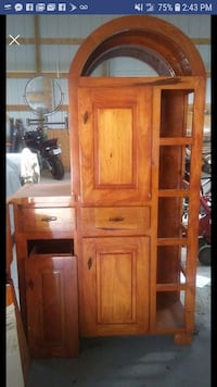 brown wooden cabinet with drawer Kansas
