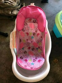 baby's pink and white bather 412 mi