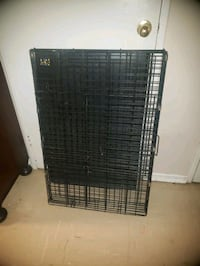black metal folding dog crate Toronto, M1E 4P8