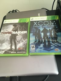 two Xbox One game cases Pleasant Hill, 94523