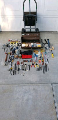 Kennedy tool boxes w/tools