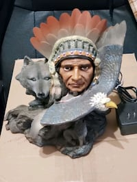 Indian with eagle fiber optic wings Overland, 63114
