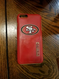 red and black Otter Box iPhone case Victorville, 92392