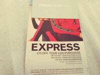 $135 Express gift cards with coupon San Leandro, 94577