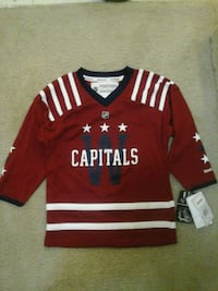 red and white Adidas jersey shirt Silver Spring, 20902