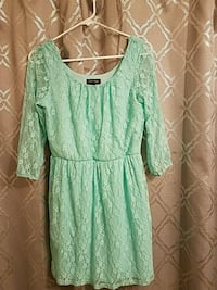 Kid's Small JR Teal Lace Drss (Never Worn) Buford, 30518