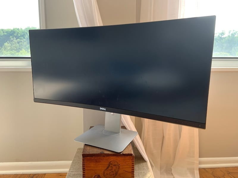 Awesome Dell Ultra-Wide 34 inch curved monitor 45ade814-407a-49c1-b854-b5d6e81d8d1e
