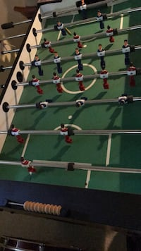 Green and brown foosball table Concord, 01742