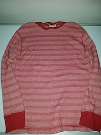 Boys size Lg red striped thermal  Virginia Beach, 23454