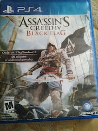 Assassin's Creed IV Black Flag PS4 game case Pensacola, 32501