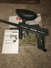 Tippman paintball marker with co2, mask and gear Ruskin, 33570