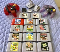 Nintendo 64 Games+Controllers/Rumble Paks+Memory Cards! PLS READ DESCRIPTION!! Brampton, L6Y 4G6