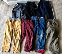 Pants and Track Pants for 4Y (7 pcs) 3750 km
