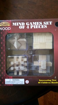 Wooden mind puzzles Hometown, 60456
