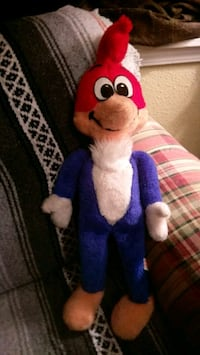 Vintage WOODY WOODPECKER WORKING PULL STRING PLUSH