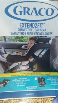 Brand new car seat in the box Calgary, T2Y 2Z9