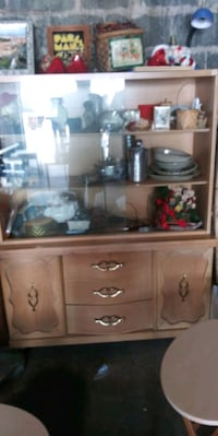 China cabinet has wheels. Nice and clean Hagerstown