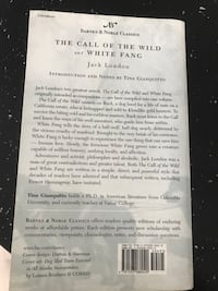 The call of the wild and white fang novel by Jack London Orlando, 32837