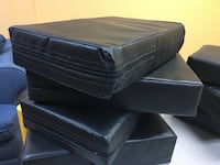 Rectangular Black Cushions MONTREAL