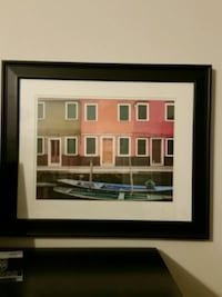 black wooden framed painting of building Murfreesboro, 37128