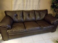 Brown Sofa and Loveseat   Upper Marlboro