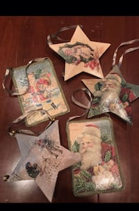 Five NEW vintage look ornaments  Discovery Bay, 94505