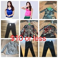 Variety of clothing in all sizes from XS to XL  Calgary, T3N 0P9