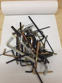 assorted-colored allen wrench lot St. Catharines, L2S 4C4