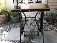 Singer base pub top good for sofa table or hall ta