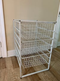Metal storage drawers Baltimore