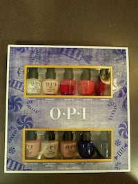 Opi Nutcracker nail polish collection