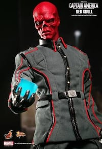 Marvel Red Skull Hot Toys 1/6