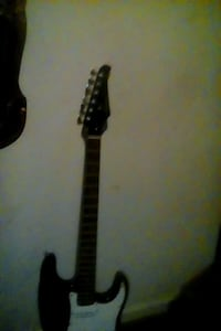 black and gray electric guitar Baltimore, 21223