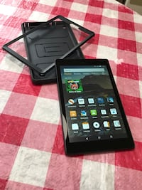 Amazon Kindle Fire HD8 with case Gainesville, 32605
