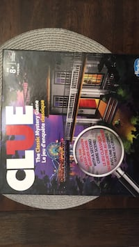 Board game clue mystery game