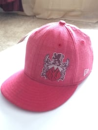 Red 59/50 New Era hat
