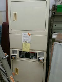 Double stacked dryer mechanically or coins  Moriarty, 87035