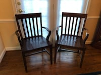 Pottery Barn Mahogany Wooden Chairs Vienna, 22182