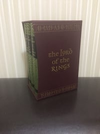 Lord of the Rings boxset published by Foilo Society (Read description)