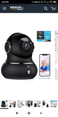 Wifi security camera Toronto, M3J 1V6