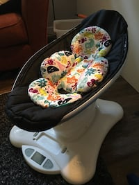 Mamaroo we bought second hand. Is a few years old but still works perfect. Comes with infant insert   Abbotsford, V4X 2S2