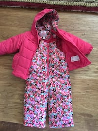 Little girls snowpants and coat/ size 24 months Bristow, 20136