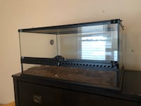 Reptile Terrarium Tank Opening Front And Top
